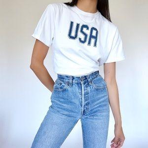 Vintage 90s USA Souvenir T-shirt by Lands End